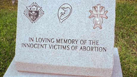 """Mémorial aux """"victimes de l'avortement"""" © Danielle Michel-Chich"""