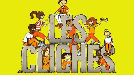 Détail du poster de la campagne « Filles et garçons : cassons les clichés »