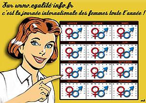 La journée des femmes c'est toute l'année !
