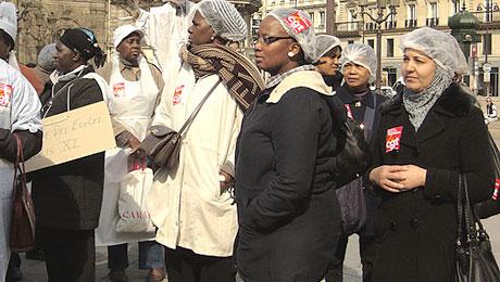 Manifestation du 22 mars 2012, Paris.