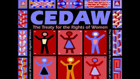 Couverture de la convention Cedaw