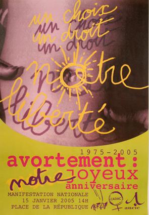 2005_affiche_manifestation_30 ans loi veil - MFPF