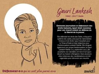 Gauri Lankesh Inde