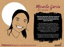 Micaela Garcia Argentine