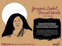 Yoryanis Isabel Bernal colombie