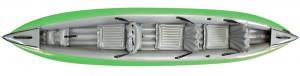 Gumotex Solar 410c wersja 4 osobowa z lotu ptaka