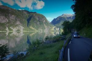 Hardangerfjord, Norwegia
