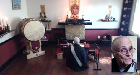 Sept. 6, 2015, Service at Myoshoji with Ryusho Jeffus Shonin