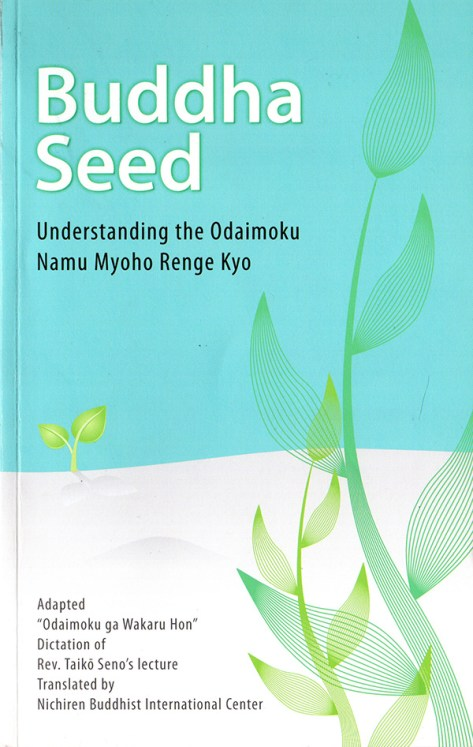 Buddha Seed book cover
