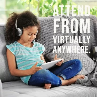 Attend from virtually anywhere.-2