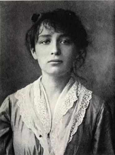 A artista aos 20 anos de idade. Ela morreu há 70 anos