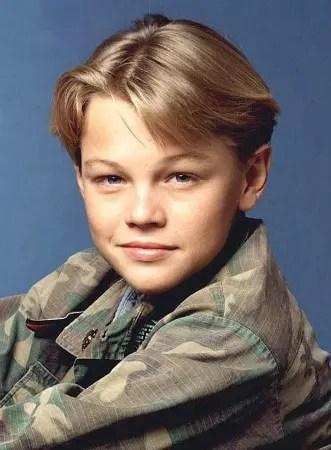 O sempre bonito Leonardo de Caprio com 16 anos. O ator está com 38 anos