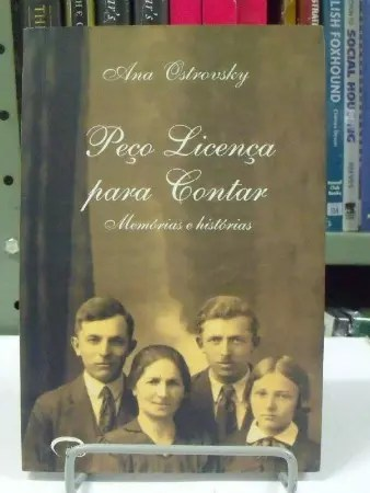 Livro contando a saga da família polonesa