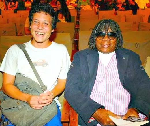 Chicão, filho de Cássia, com Milton Nascimento
