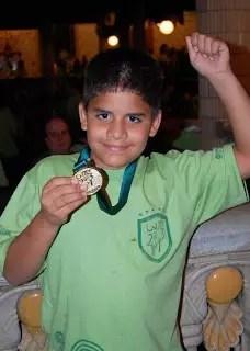 Wanderson Ferreira Dias: duas medalhas de ouro