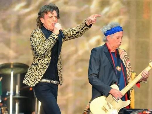 Mick Jagger, estrela dos Stones, completa nesta sexta 70 anos de vida