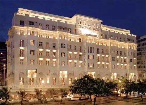 O hotel, inaugurado em 1923, foi construído e mantido até 1989 pela família Guinle