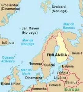 Entre a Suécia e a Rússia