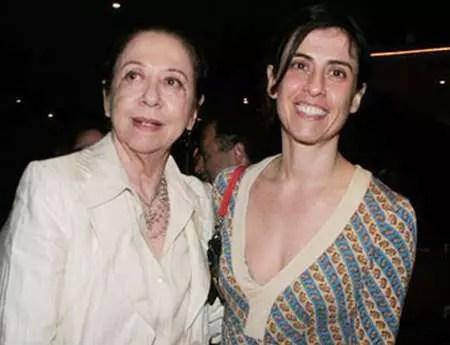 Fernandinha com Fernanda Montenegro: mãe e filha brilham