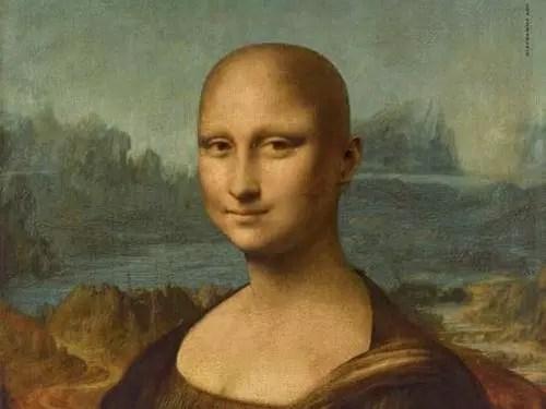 A pintura mais famosa usada na campanha
