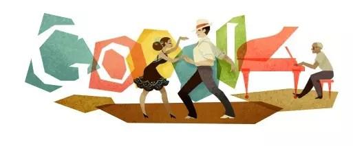A homenagem do Google ao autor de  Aquarela do Brasil