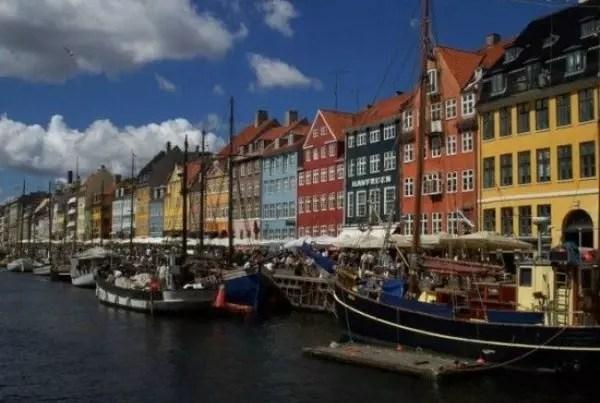 Copenhagen, capital da Dinamarca, outro país nórdico onde há maior igualdade