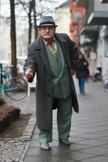 Turco morador de Berlim, na Alemanha