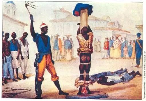 Brasil foi o país que mais importou negros da África, tratados de forma desumana