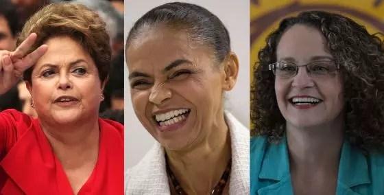 Pela primeira vez, temos três  mulheres disputando a presidência, mas ainda não temos força
