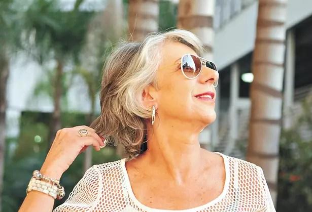 Ivna Tarsis Junqueira Reis Guimarães, 65: mostrando sua beleza natural
