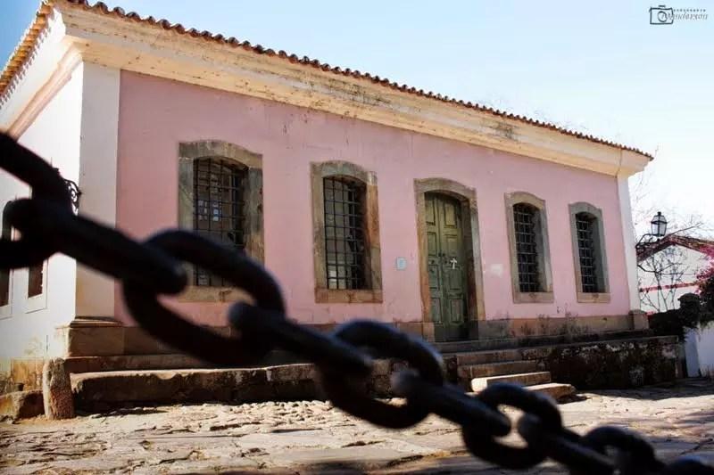 Museu foi instalado no prédio da antiga cadeia pública de Tiradentes