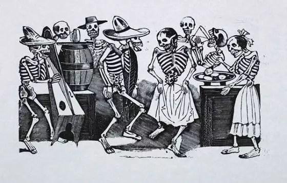 'El Jarabe en Ultratumba', de José Guadalupe Posada