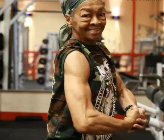 Winnie Murphy começou a treinar numa academia há poucos anos
