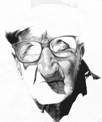 A velhice retratada por um jovem de uma maneira bem diferente