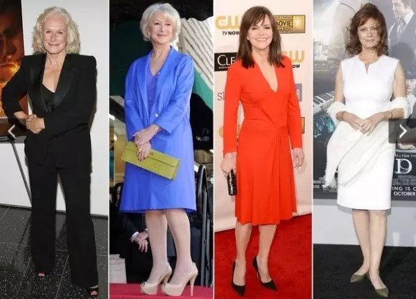 Glenn Close, Helen Mirren, Sally Field e