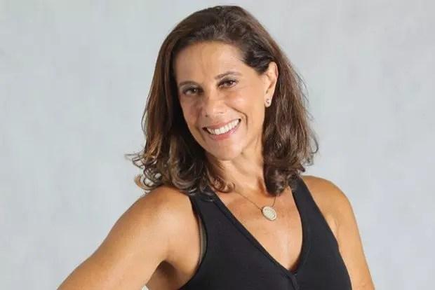 Angela Vieira, 63,  mantem-se sempre elegante