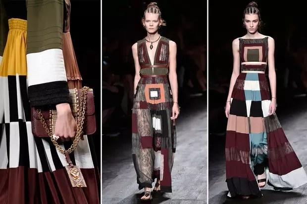 Vestidos da coleção de verão de Valentino