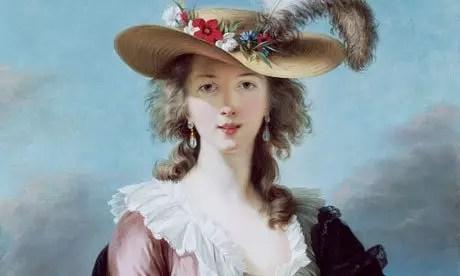 Uma das mulheres mostradas é Self-Portrait, by Elizabeth Louise Vigée Le Brun, after 1782.
