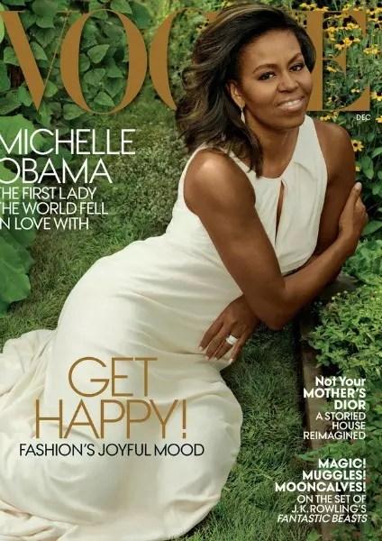 Edição de dezembro da Vogue americana: é a terceira vez que ela é capa da revista