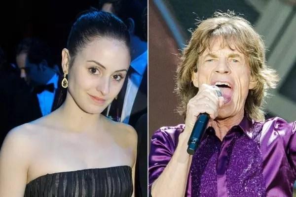 A bailarina Melanie é a mãe do oitavo filho de Mick Jagger, 74