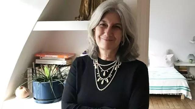 A francesa Sophie Fontanel, 55,