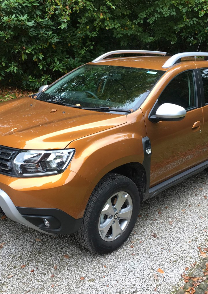 Steve Howarth's Testdrive – Dacia Duster