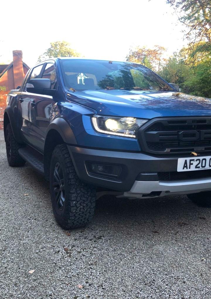 Steve Howarth's Testdrive – Ford Raptor