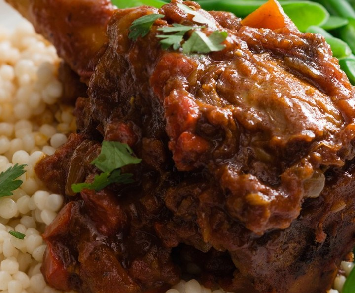 MUTTI SLOW COOKED MOROCCAN LAMB SHANKS