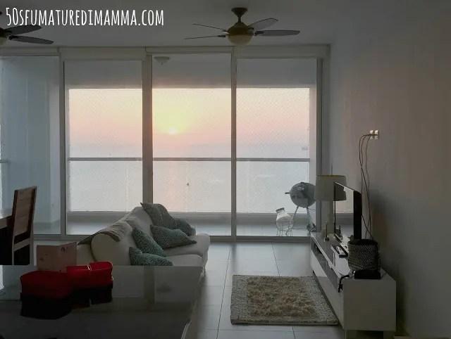 A Panama si vede facilmente l'alba