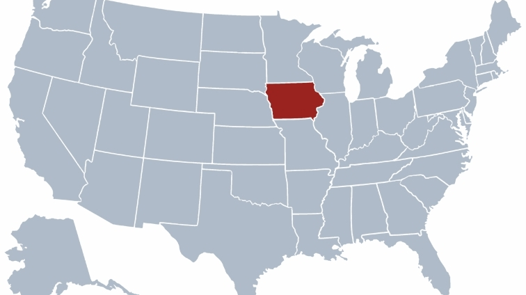 images for usa map iowa