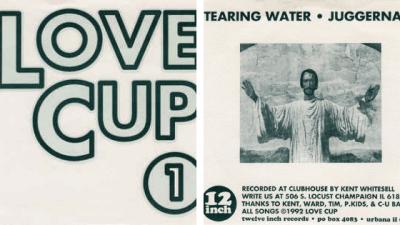 """Lovecup - Tearing Water 7"""" Sleeve"""