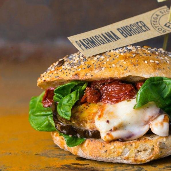 Parmigiana Burger - Fud Bottega Sicula Catania