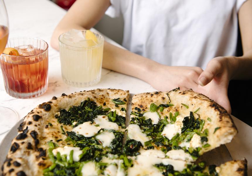 La pizza della Pizzeria Bella Brutta di Sydney
