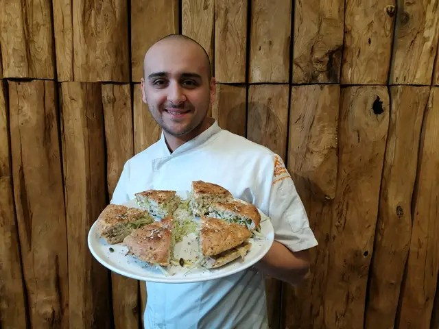 Il pizzaiolo Luca Pezzetta